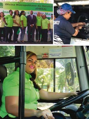 El BID destacó la reconversión de cajeras a conductoras de autobuses y contratación de mecánicas.