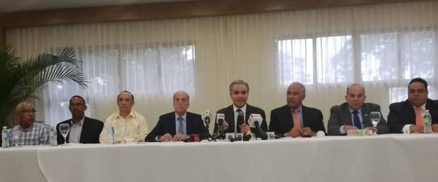 Bloque de partidos de la oposición.