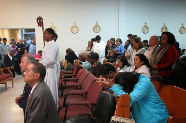 Acto de oración en Miami