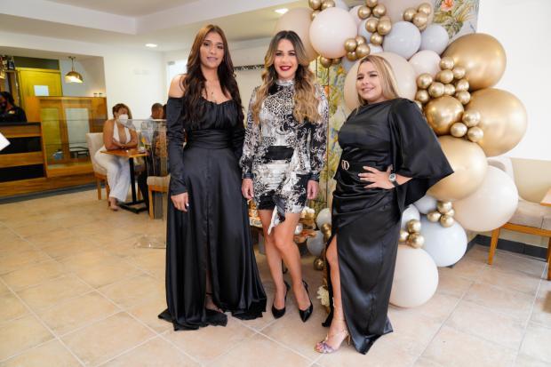 Karaimy Pérez, Luz García y Estefanie Guerrero.