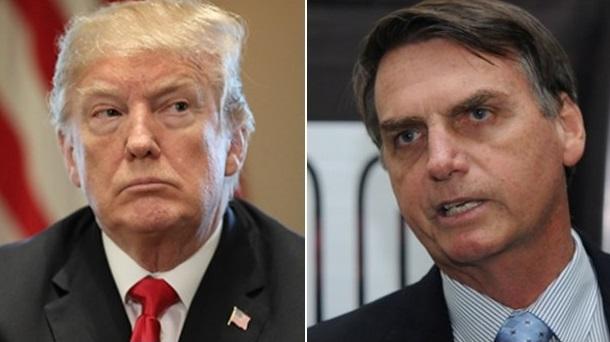 Trump habla con Bolsonaro y se compromete a trabajar en comercio y seguridad