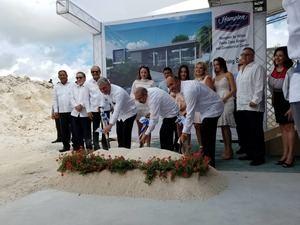 Arranca construcción del Hampton by Hilton Punta Cana por RD$750 millones