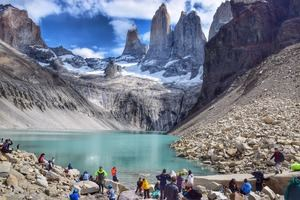 Torres del Paine, Patagonia es un parque nacional de Chile.