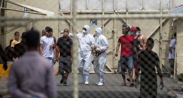 Penitenciaría Nacional de La Victoria está intervenida por las autoridades sanitarias desde el sábado pasado y se ha procedido a aislar a varios presos y a trasladar, por lo menos a 50.
