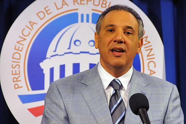 José Ramón Peralta, ministro Administrativo de la Presidencia