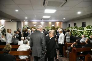 Personalidades acuden al velatorio del doctor Héctor Juan Bosco Guerrero