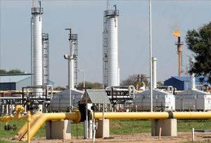 Petróleo y gas.
