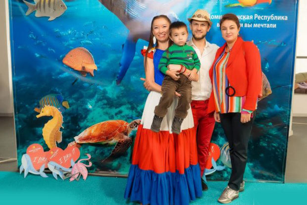 """La Oficina de Promoción Turística (OPT) de Asia Central con sede en Kazakhstan realizó su tradicional evento dirigido al cliente directo, en esta ocasión celebró el """"Dominican Paradise""""."""