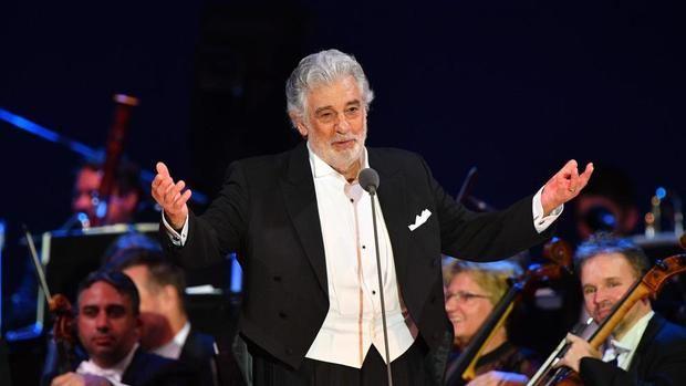 Plácido Domingo actúa por vez primera en España tras las acusaciones de acoso.