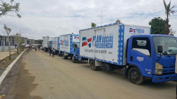 Plan Social asiste a afectados por inundaciones en La Vega