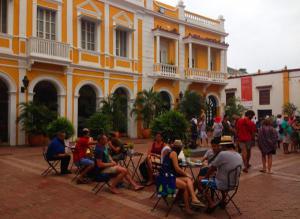 Plaza en Cartagena