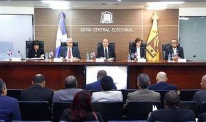 El Pleno de la Junta Central Electoral (JCE).