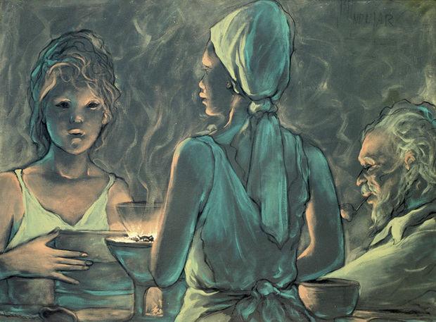 Pintura de Plutarco Andujar.