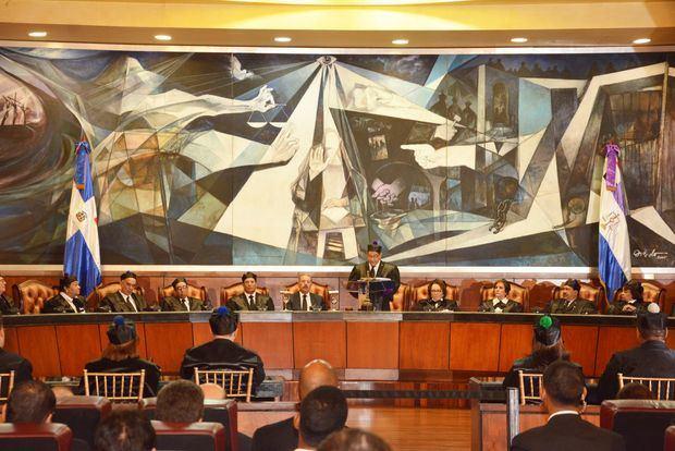 Evaluarán actuaciones del magistrado Recio tras acusaciones a presidente SCJ