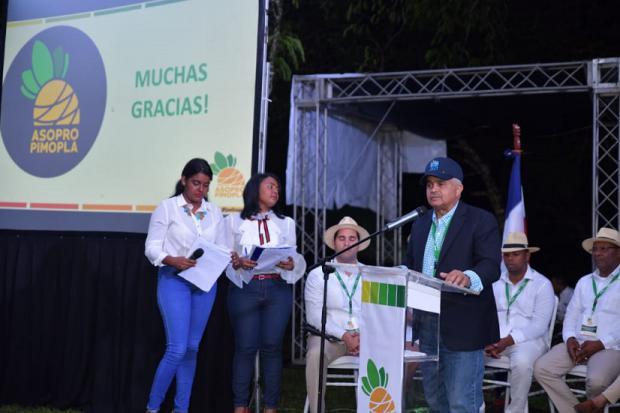 Asociación de Productores de Piña de Monte Plata realiza asamblea anual
