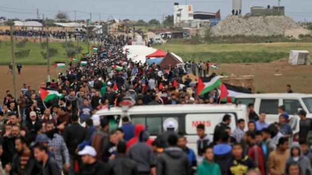Israel incrementará su respuesta si continúan las protestas violentas en Gaza