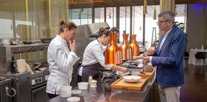 Imagen cedida por el grupo hostelero valenciano La Sucursal de su director, Javier de Andrés, y su hermana, la cocinera Miriam Andrés, que se encargará del contenido culinario de la Cité Internationale de la Gastronomie de Lyon, Francia, uno de los proyectos gastronómicos y culturales más grandes del país.