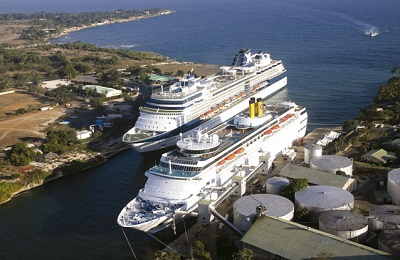 Puerto de La Romana lidera llegada de cruceros en Rep. Dominicana hasta abril 2017