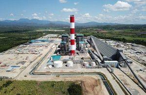 Punta Catalina Central Termoeléctrica que está integrada por dos unidades de generación eléctrica de  376 MW brutos cada una,  para un total de 752 MW brutos.