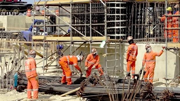 Los miembros del Sindicato de Trabajadores de la Rama de Construcción de la Planta Punta Catalina (Sintrapunca) lograron que se les pague un salario como bonificación.
