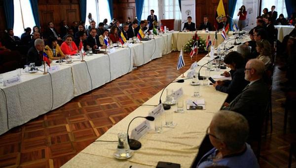 Once países ratifican la ayuda a los migrantes venezolanos garantizando seguridad