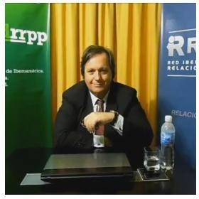 Presidente de REDIRP, Antonio Ezequiel Di Génova.