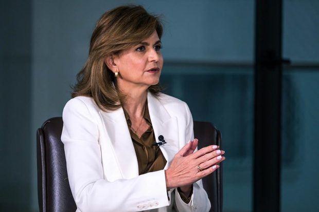 La nueva vicepresidenta de la República, Raquel Peña.