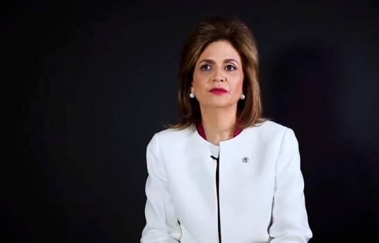 Raquel Peña, candidata a la vicepresidencia junto a Luis Abinader por el PRM