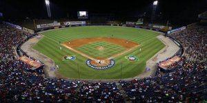 Campo de béisbol.