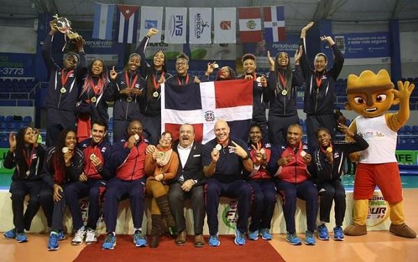 RD se corona campeón en Final Four de Voleibol Sub-20