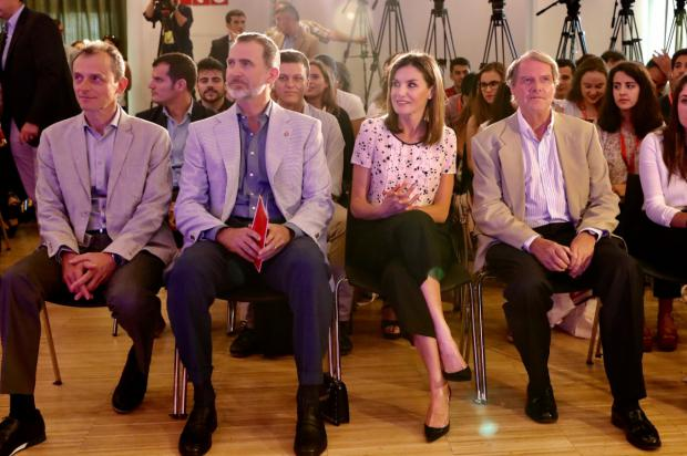 "Reyes de España asisten a encuentro anual ""rescatadores de talento"""