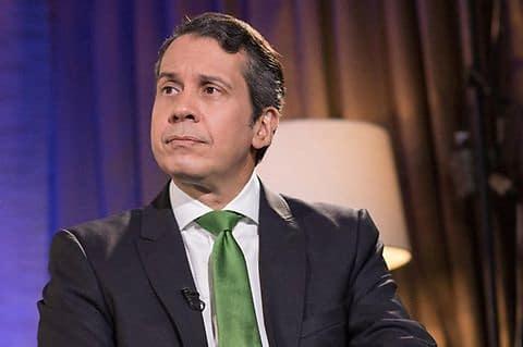Delegado político del Partido Revolucionario Moderno, PRM, ante la JCE, Orlando Jorge Mera.