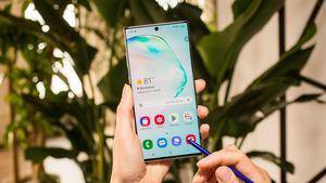 Samsung presenta el Galaxy Note 10.