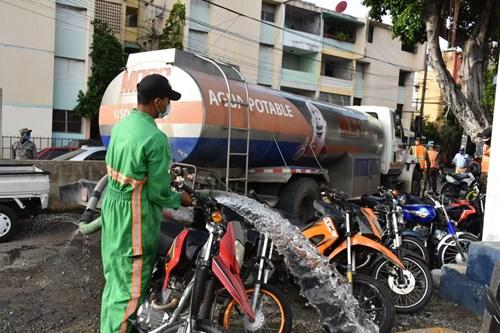 MOPC ejecutará jornada de limpieza y desinfección al sector San Carlos