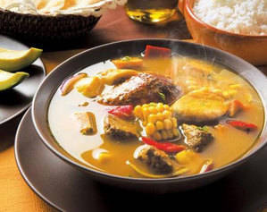 Sancocho dominicano.