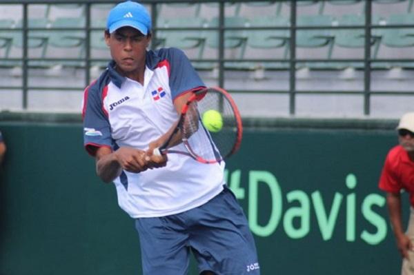 Tres dominicanos desde este lunes en Futuro F1 de tenis en el Parque del Este