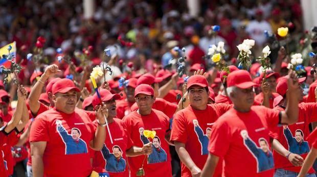 Oficialistas conmemoran en Venezuela sexto aniversario de la muerte de Chávez