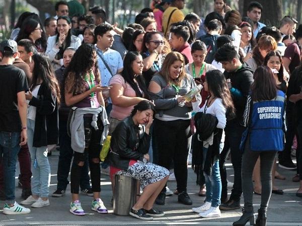 Sismo de magnitud 5,3 se percibe en Ciudad de México y varios estados