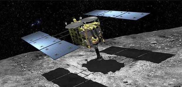 La sonda espacial japonesa Hayabusa2 realizó hoy con éxito su segundo aterrizaje en un asteroide situado a 244 millones de kilómetros de la Tierra.