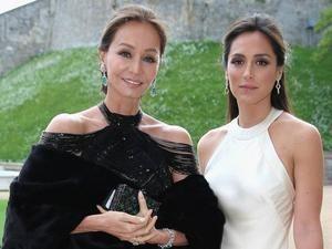 Tamara Falcó junto a su madre, Isabel Preysler,