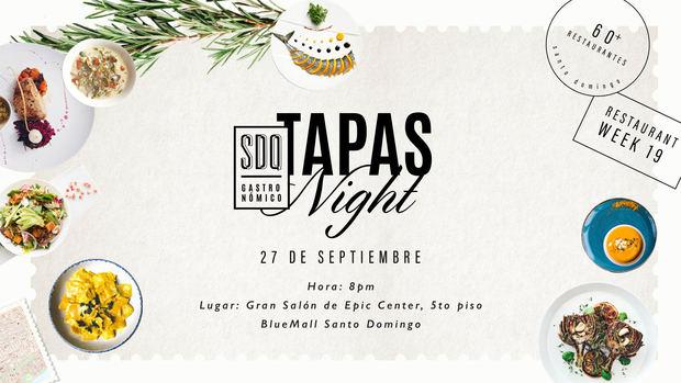 Invitación Tapas Night.