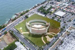 Vista áerea del Teatro Agua y Luz.
