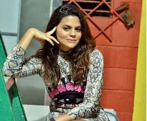 Techy Fatule, actriz, cantante y compositora dominicana.