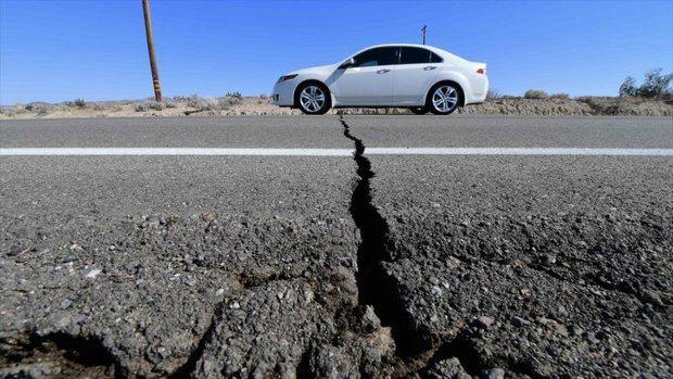 Un nuevo terremoto de magnitud 7,1 sacude el sur de California.