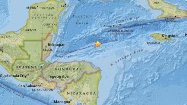 Un fuerte terremoto en el Caribe entre Honduras y Cuba con alerta de tsunami