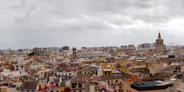Vista general de Valencia.