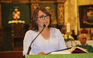 Emelyn Baldera, presidenta de Acroarte.