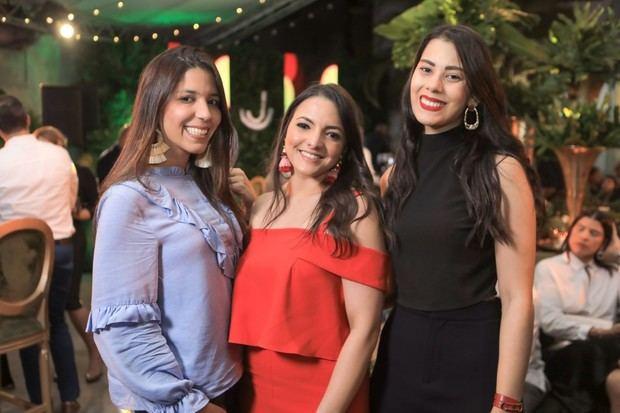 Carmen Escaño, Arlene Fernández y Anabel Dantes.
