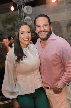 Marcellle Mendieta y Tirso González.