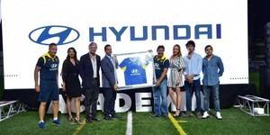 Hyundai formaliza relación con Santa Fe Fútbol Club.